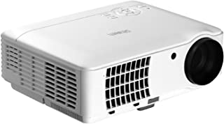 """Video Projectors Portable Projector 2500 Lumens 200"""" Projection Size for 1080P Devanti Home Cinema Movies Video Game Outdo..."""