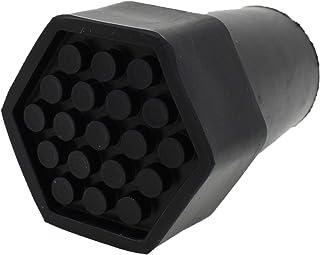 Cantidad 4x: 22mm Conteras De Goma Hexagonales Resistentes Para Muletas Y Bastones - Por Lifeswonderful®