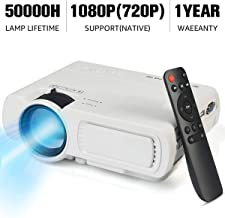 Video Projector,SeeYing 3600Lux Portable Mini Projector...