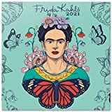 ERIK - Calendario de pared 2021 Frida Kahlo, Producto Oficial, 30x30 cm