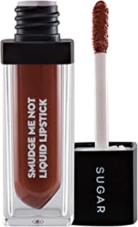 SUGAR Cosmetics Smudge Me Not Liquid Lipstick 12 Don Fawn (Yellow Brown), Long Lasting Waterproof Matte Liquid Lipstick For All Complexion, 4.5 ml
