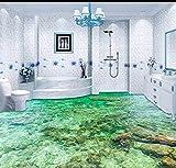 Yosot Tapete Custom Bodenbelag 3D Bodenbelag Malerei Schöne Meerwasser Ripple