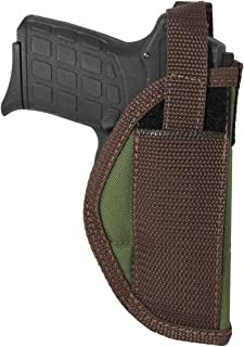 Barsony New Woodland Green Outside The Waistband Holster for 380 Ultra Compact 9mm 40 45 Pistols