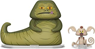 Funko Vynl: Star Wars - Jabba & Salacious Crumb Collectible Figure, Multicolor