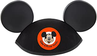 Walt Disney World Mickey Mouse Classic Black Patch Ears Hat Adult Size
