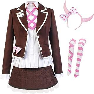 LJ123 Danganronpa Utsugi Kotoko Outfit School Uniform Dress Anime Cosplay Costume per Donne Ragazze