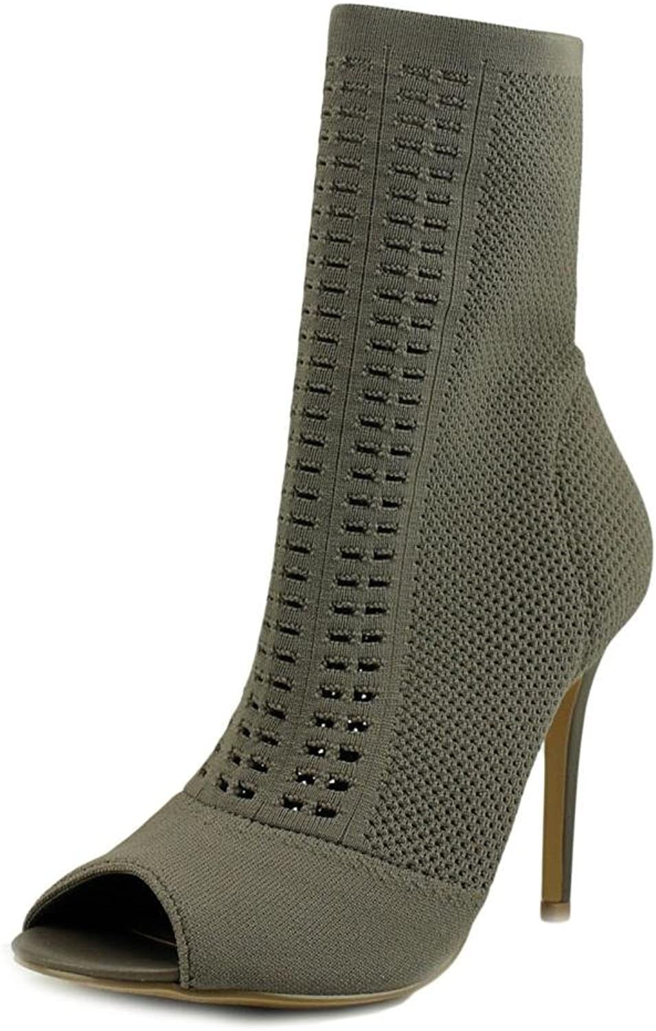 Charles by Charles David Women's Rebellious Open Toe Bootie