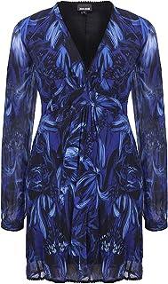 فستان نسائي مطبوع من Just Cavalli Rock Tulip