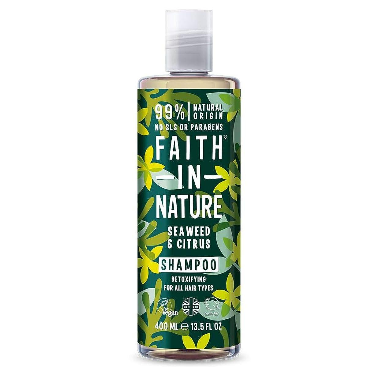 等々電池バリーFaith In Nature Organic Seaweed Shampoo 400ml