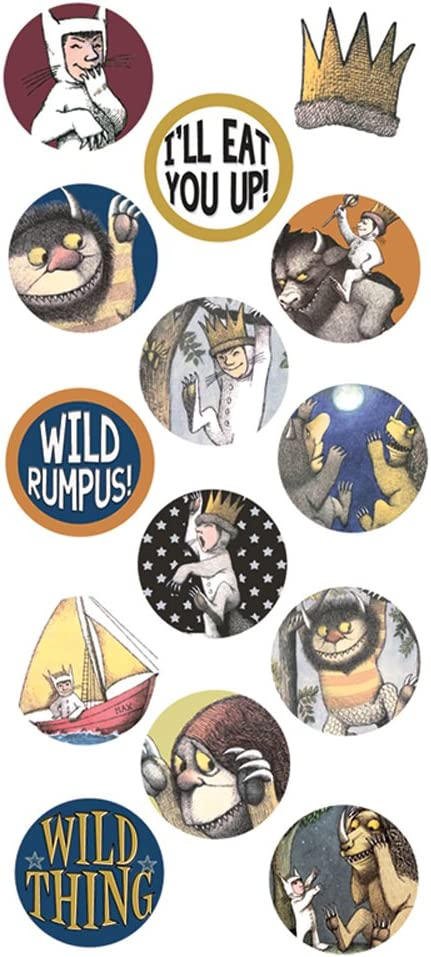 WHERE The WILD THINGS Are Self Adhesive Die Cuts