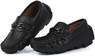 Samilor Boys Dress Shoes Toddler Dress Shoes Boys Loafers Casual Penny Loafer Moccasin Dress Driver Shoes for Boys and Gir...