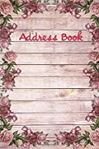 Address Book.: (Flower Edition Vol. D76) Glossy And Soft Cover, Large Print, Font, 6