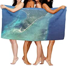 "Marshall Islands Ocean Beach Towels Polyester Quick Dry Soft Bath Sheets,Summer Novelty Pool Large Bath Towels For Yoga Mat Beach Cover Blanket 31.5"" X 51.2"""