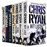 Chris Ryan Collection 8 Books Set New RRP: £ 55.92 (Chris Ryan Collection) (Tenth Man Down, Blackout, Greed, Fire Fight, Land of Fire, Strike Back, Hit List, The Increment)