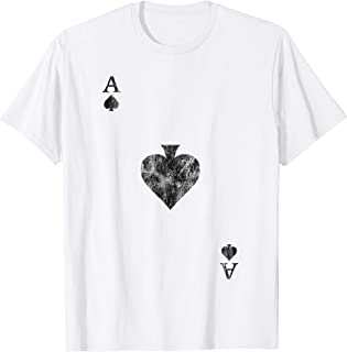Ace of Spades Vintage Card Player T-Shirt