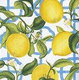 Caspari Seville Cocktail - Tovaglioli di carta, colore avorio