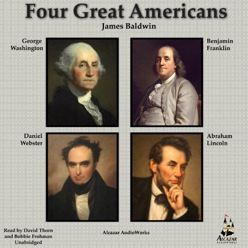 Four Great Americans audiobook cover art