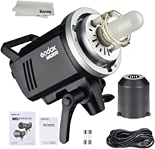 Godox MS300 300WS 2.4G Wireless X System Studio Flash,5600±200k Color Temperature,0.1-1.8S Recycle Time,Using Godox X1 Trigger & XT16 Transmitter or xpro and x2 Trigger to remotely Control