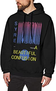Syre Jaden Smith Mens Long Sleeve Sweatshirts Men Hoodies Black