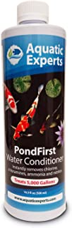 Aquatic Experts PondFirst Pond Water Conditioner - Concentrated Instant Dechlorinator for Fish Ponds, Makes Water Safe for Koi and Goldfish, Made in The USA