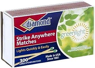 Diamond Green Light Strike Anywhere Matches
