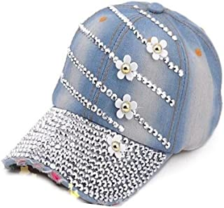 4b89fad63 Xuzirui Women Bling Studded Rhinestone Hat Crystal Hat Love Lips Baseball  Caps