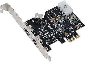 SEDNA - PCI-Express IEEE 1394b FireWire 3 Port Controller Card (2 External + 1 Internal)