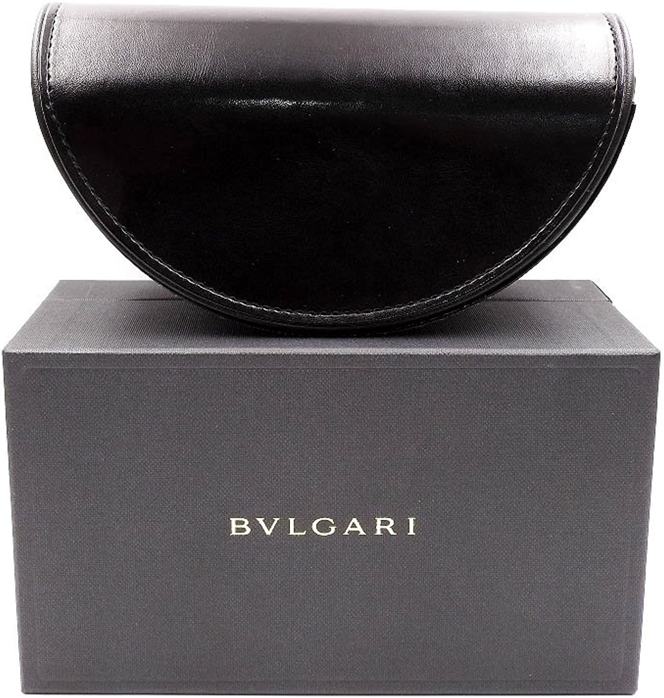 Bvlgari Black Large SemiCircle Sunglass Case