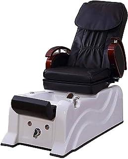 Elektrische Voet Wassen Sofa Stoel Leunen Voetbad Spa Kruk Manicure En Wimper Salon Manicure Bed,White