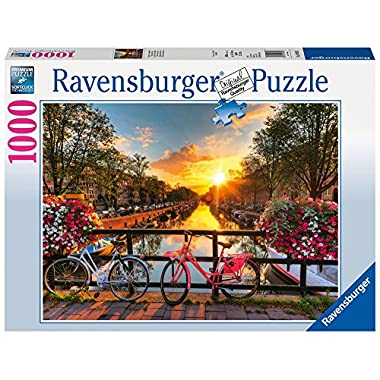 Ravensburger Bicycles in Amsterdam - 1000 pc Puzzle