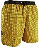 GUGGEN Calzoncini da Bagno per Uomo Watershorts Costume da Bagno Adulto Colore Giallo XXXL