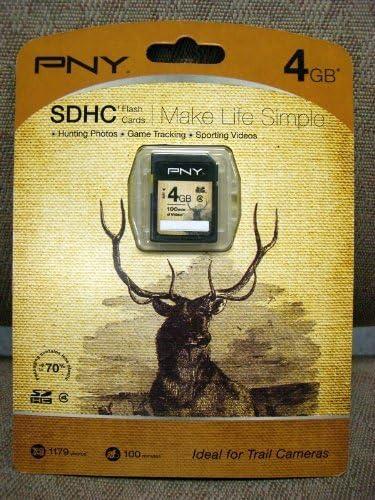 PNY P-SDHC4G4-EF/WM SD Card Ideal for Trail Cameras