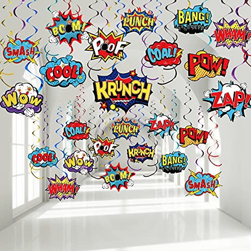 30 Pieces Hero Themed Party Decorations, Fun Hero Theme...