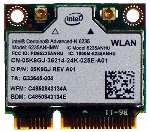 Mini-PCIe WiFi WLAN WiDi 802.11a-n Advanced-N 6235 Dualband ID13429