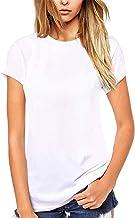 Beluring Women T Shirt Cute Crew Neck Tee Casual Blouse
