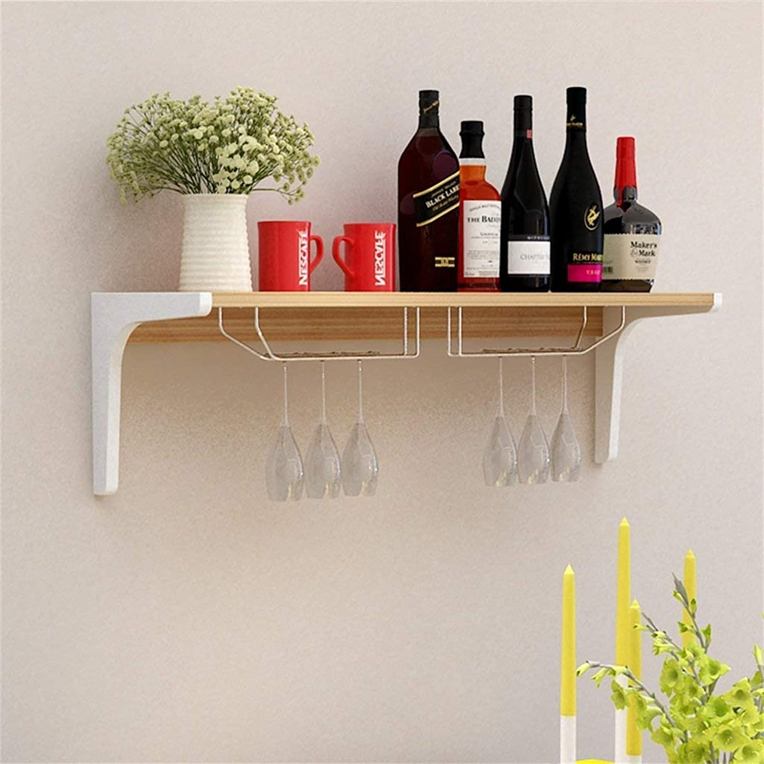 XSSD Household Modern Minimalist Hanger Paint Partition Shelf Hanging Wine Rack Upside Down Wine Cabinet Restaurant Living Room Wine Rack