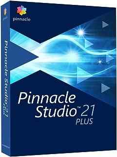 Pinnacle Studio 21 Plus Video Editing Suite for PC (Old Version)