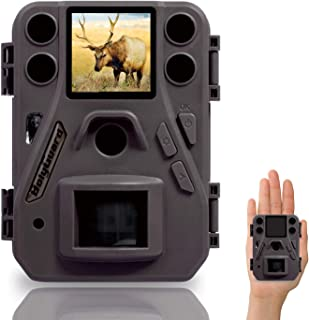 BolyGuard Cámara de Caza 12MP 1080P HD Trail Cámara con 940nm IR LED Invisible Visión Nocturna Distancia de Disparo hasta 70ft/21M IP65 Impermeable Cámara de Animal Salvaje