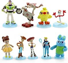 9 Pack Toy Story 4 Figure Set Cake Toppers Action Figures Toys Playset