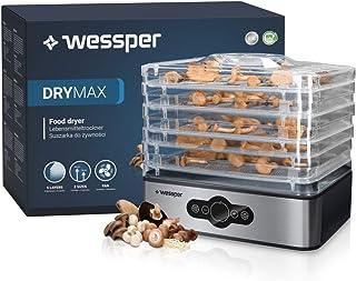Wessper Déshydrateur Alimentaire,Déshydrateur Bellelife avec Régulateur de Température, Déshydrateur avec 6 Étagères, 240...