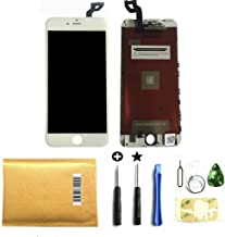Select us for White iPhone 6s Plus 5.5 Inch LCD Display Touch Screen Digitizer Assembly Screen Replacement Full Set with Tools