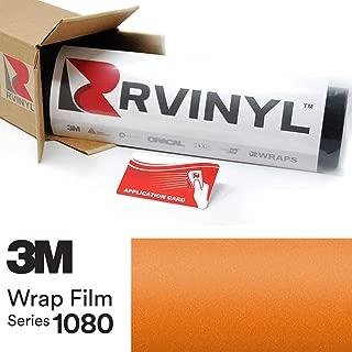 3M 1080 S344 Satin Canyon Copper 5ft x 1ft W/Application Card Vinyl Vehicle Car Wrap Film Sheet Roll