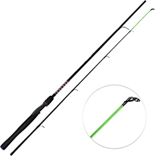 KastKing Brutus Spinning Rods & Casting Fishing Rods, Brute Tuff Composite Graphite & Glass Blanks, Stainless Steel Line Guides w/Zirconium Oxide Rings Tip Top, Chartreuse Strike Tip
