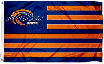 Pepperdine Waves Stars and Stripes Nation Flag