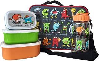 Tyrrell Katz Monster 3 Piece Lunch Set Boy's by LK Gifts and Homewares