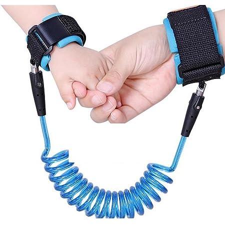 YIGO ceinture harnais extensible qui s/'attache au poignet pour une promenade avec b/éb/é en toute s/écurit/é Bracelet de s/écurit/é anti-/égarement pour enfant