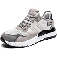 Ahico Running Shoes for Men & Women (White-Gray)
