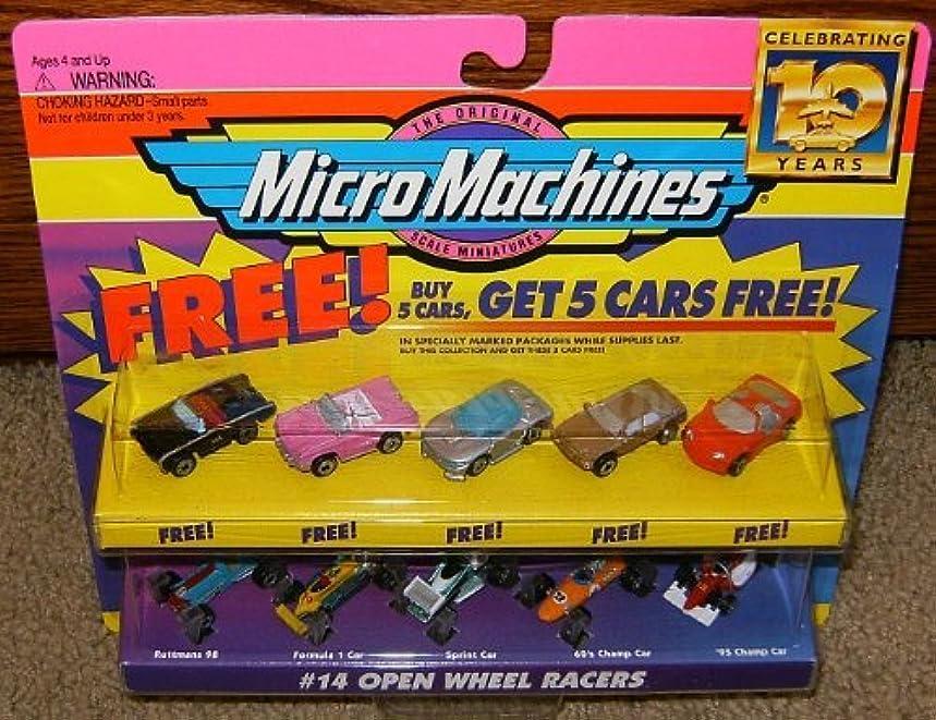 Micro Machines Open Wheel Racers #14 Collection w/5 Bonus Cars