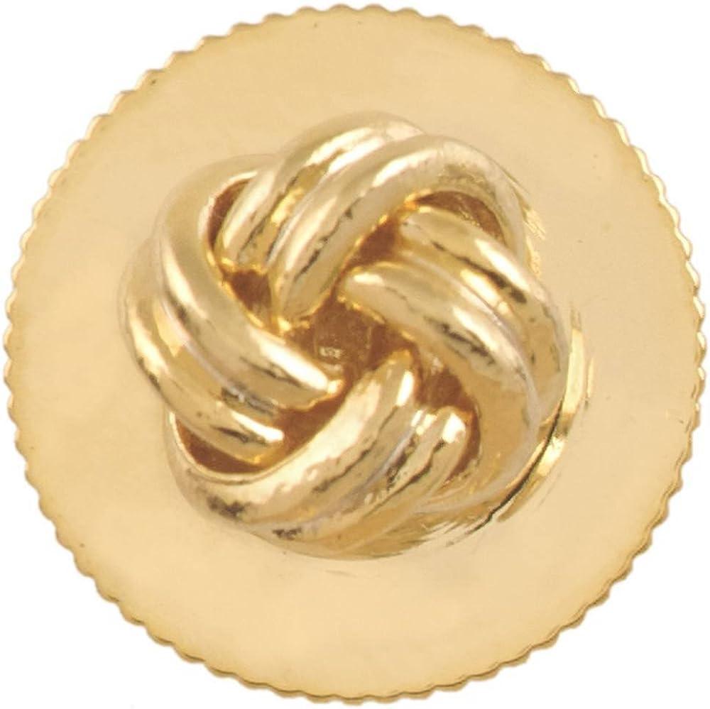 David Van Hagen Mens Knot Dress Studs - Gold