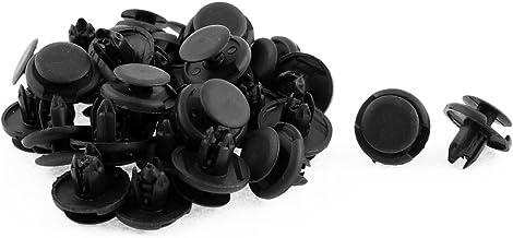 uxcell A15121100ux0080 8mm x 19mm x 10mm Rivet Retainer Fender Car Bumper Push Clip 30pcs